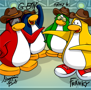 How To Find The Club Penguin Band