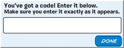 enter-code