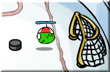 green-puffle-at-ice-rink