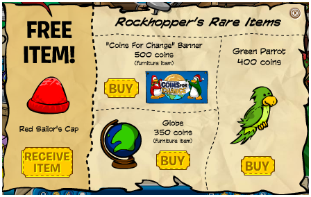 Club Penguin Cards For Sale. Club Penguin Coins For Change,