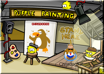 puffle-painting