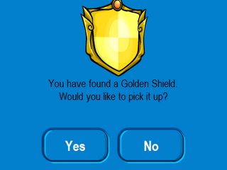 golden shield pickup