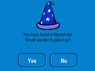 wizard hat found
